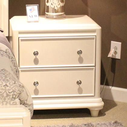 Old Brick Furniture. Liberty Furniture Stardust Contemporary Glam 2 Drawer  Night Stand   Old Brick