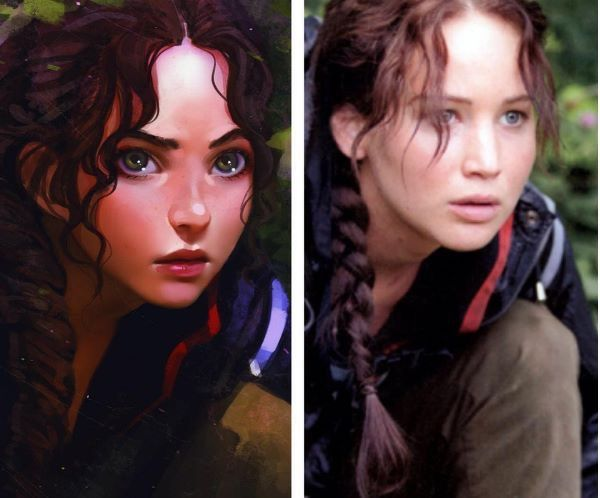 Jennifer lawrence actors and actresses pinterest jennifer jennifer lawrence hunger gamesvector voltagebd Image collections