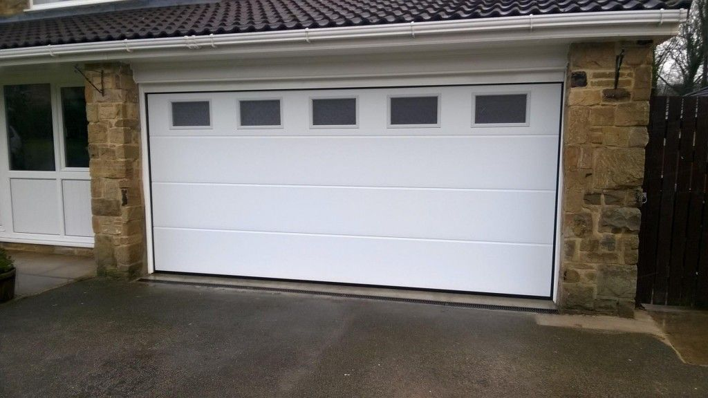 Image result for flat panel garage door with windows | For the Home on replace garage glass panel, replace garage window, replace cabinet door panel, replace vinyl siding panel, replace electrical panel,