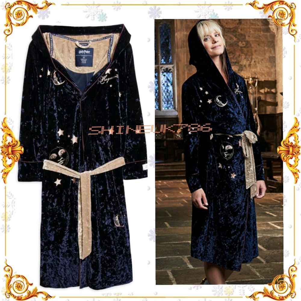 Primark Ladies Girls Harry Potter Luxury Dressing Gown Bath Robe ...