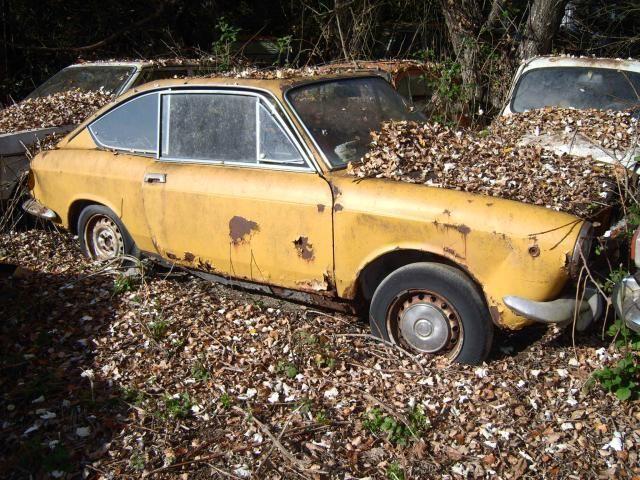 Abandoned Fiat 850 Coupe Abandoned Cars Fiat 850 Car Barn