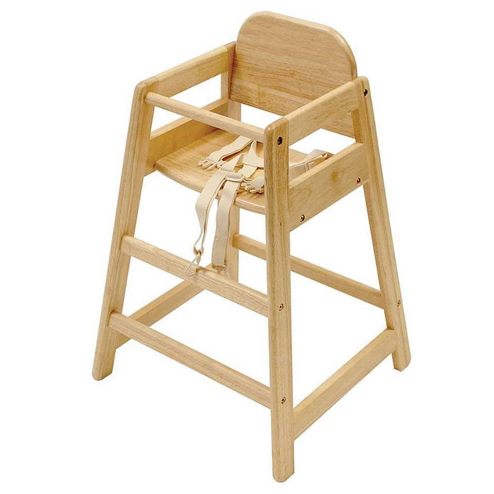 Buy East Coast Cafe Wooden Highchair Natural  Wood high chairs