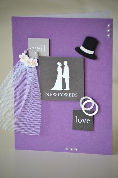 Glückwunschkarte zur Hochzeit von All The Pretty Little Things auf DaWanda.com
