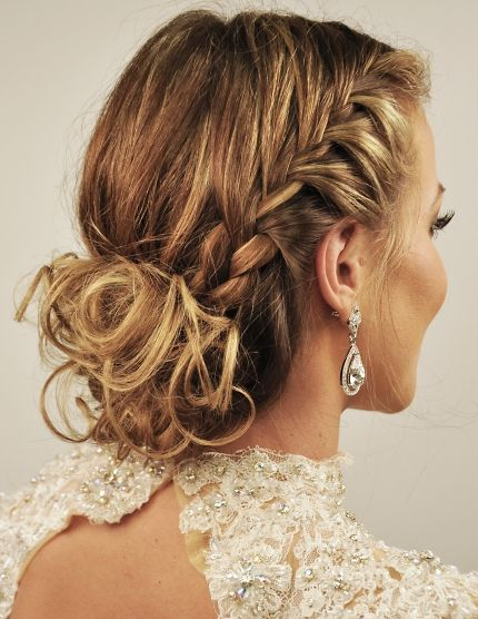 Get the Look: 2014 Oscars Beauty: Maria Menounos' Grecian Goddess Braids