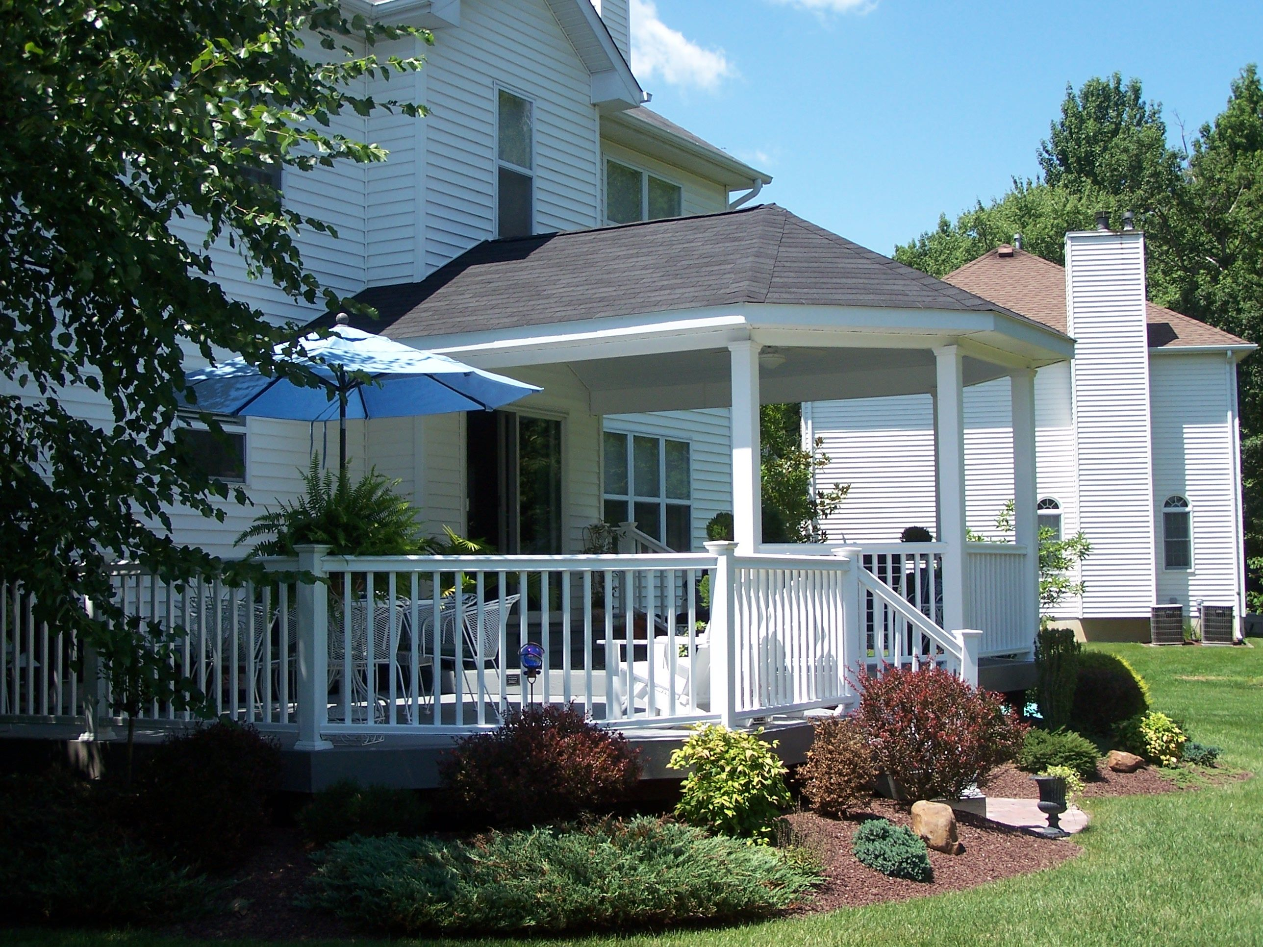 deck roof google search decks pinterest decking porch