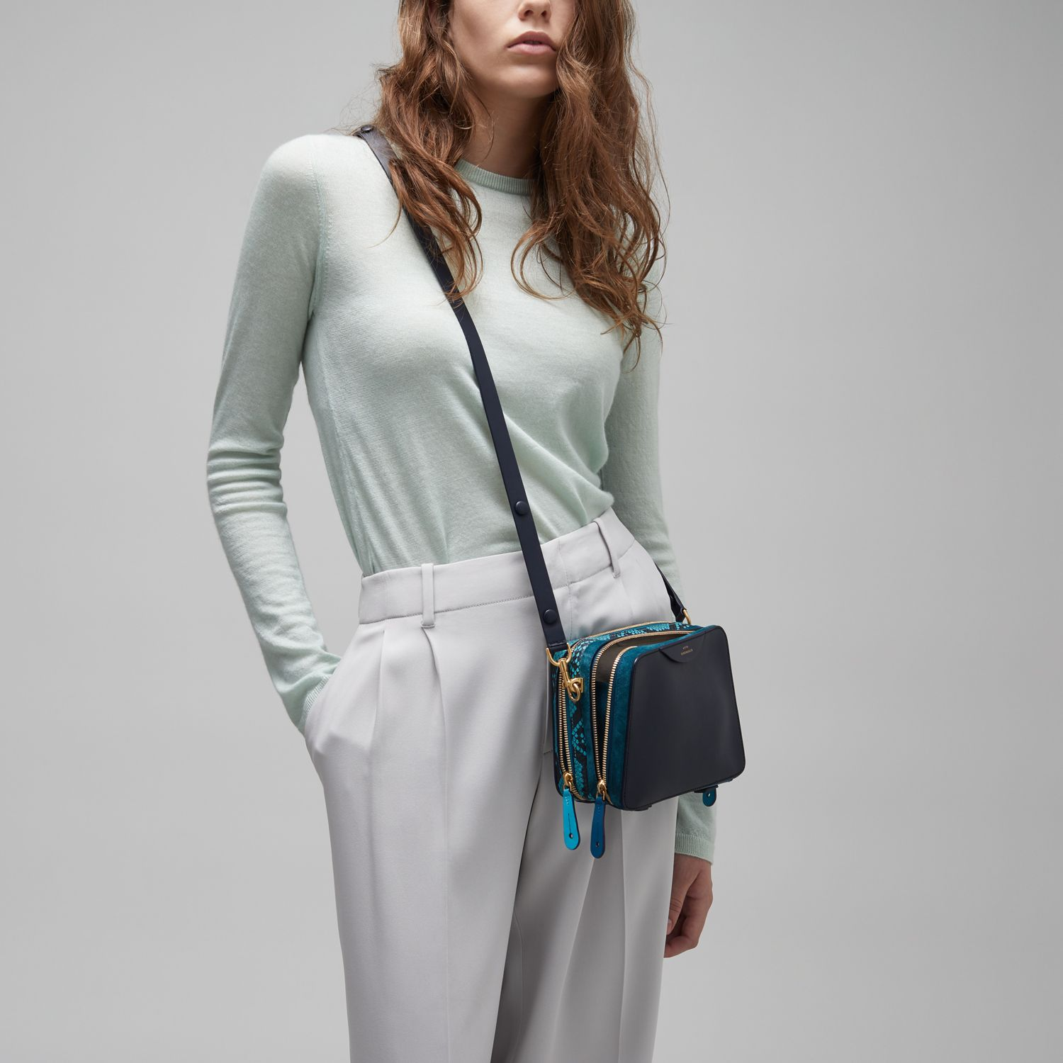 9dc3205562 The Stack Double Cross-Body by Anya Hindmarch | References ...