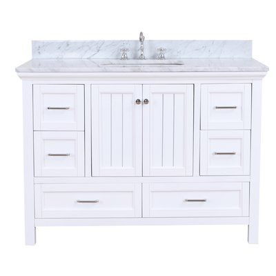 Best Kitchen Bath Collection Paige 48 Single Bathroom Vanity 400 x 300