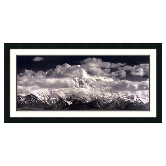 Ansel Adams Mount McKinley Range Framed Print