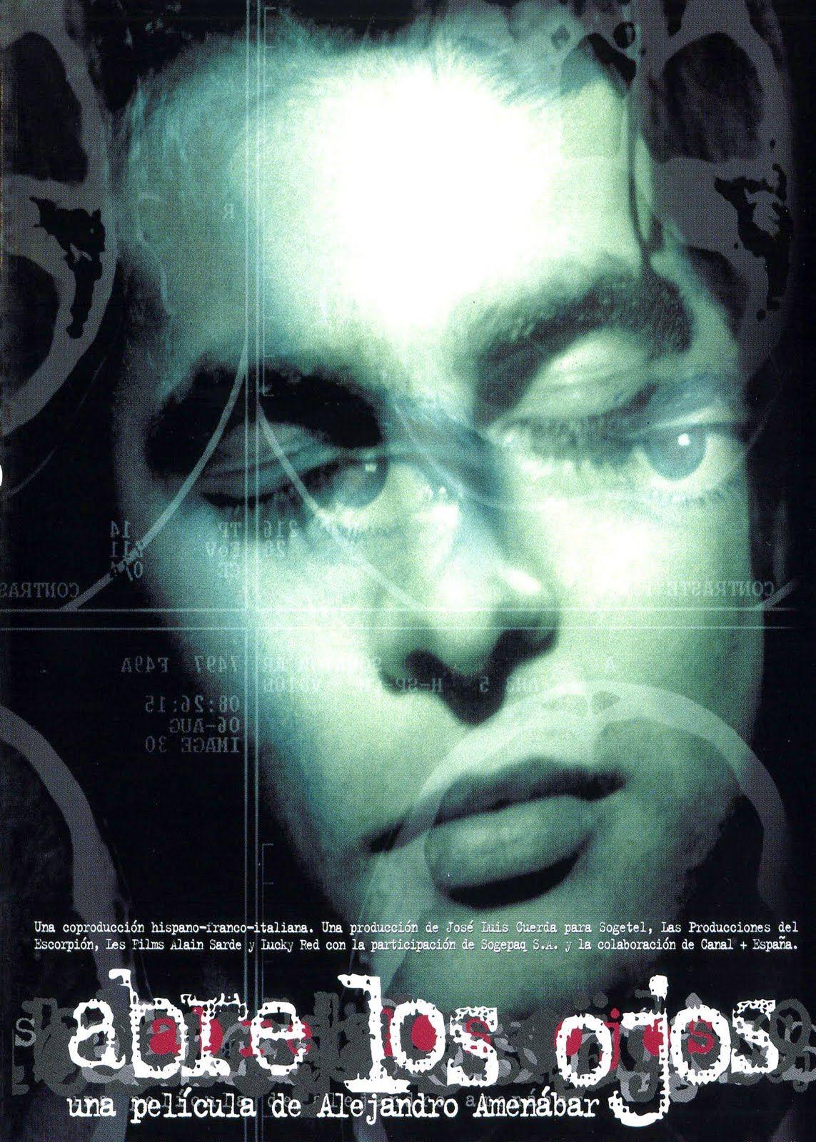 Abre Los Ojos 1997 Alejandro Amenabar Abrir Los Ojos Peliculas Completas Peliculas De Culto