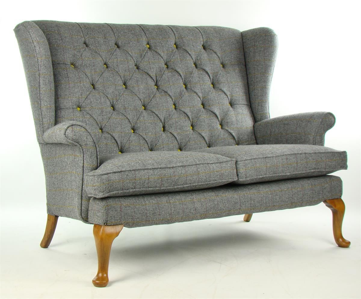 Husband Chair Parker Knoll Sofa In Harris Tweed Wool Home Hopes