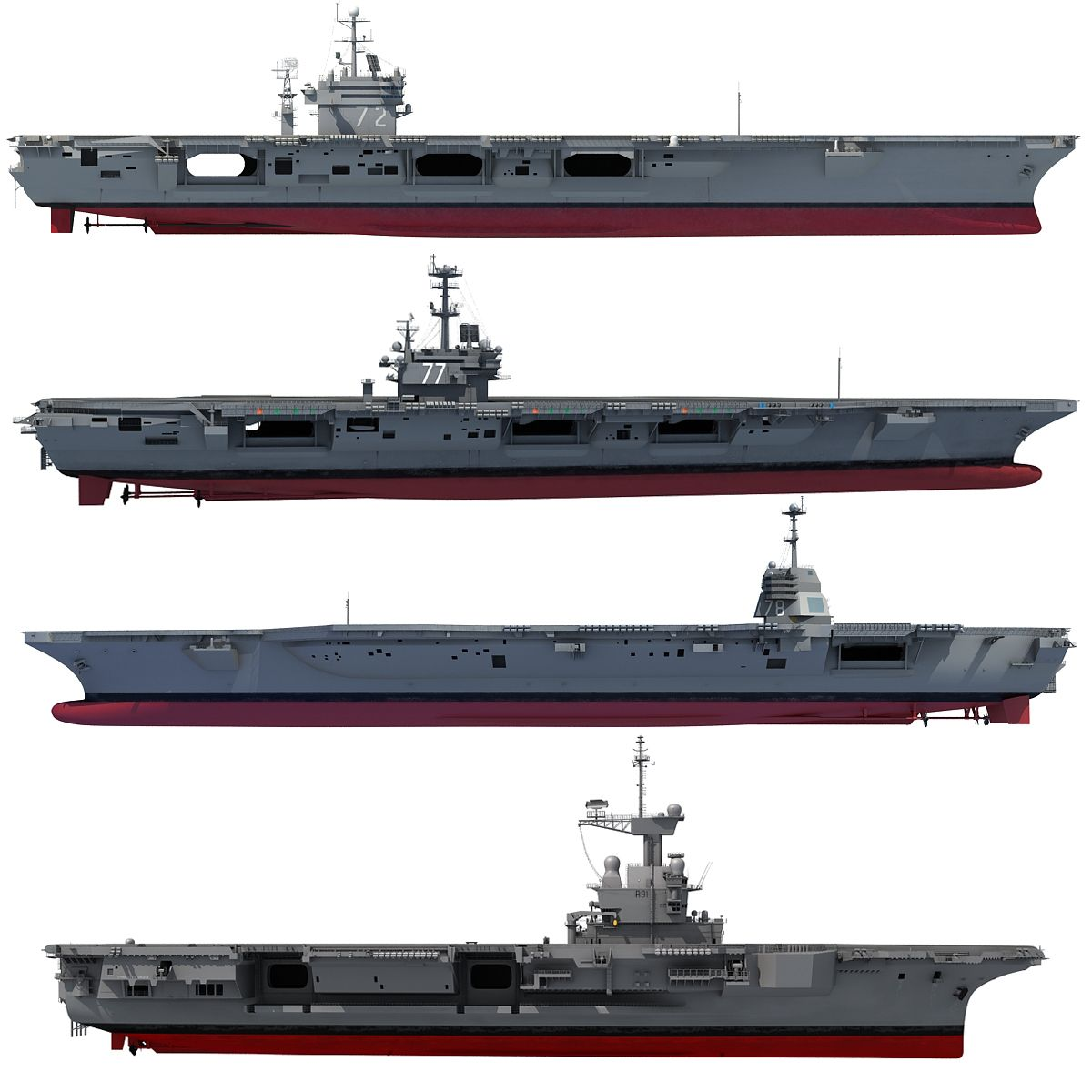 Aircraft Carrier 3D Models | My Navy | Aircraft carrier ...