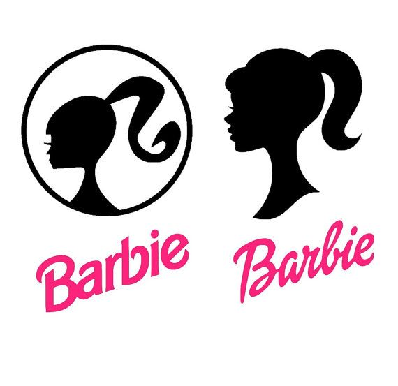Barbie Silhouette Svg File Barbie Head Diy Barbie