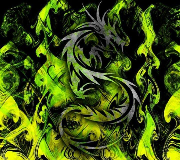 Cool Wallpaper Dragon Wallpaper Green Tribal Dragons Wallpaper Cool green dragon wallpapers
