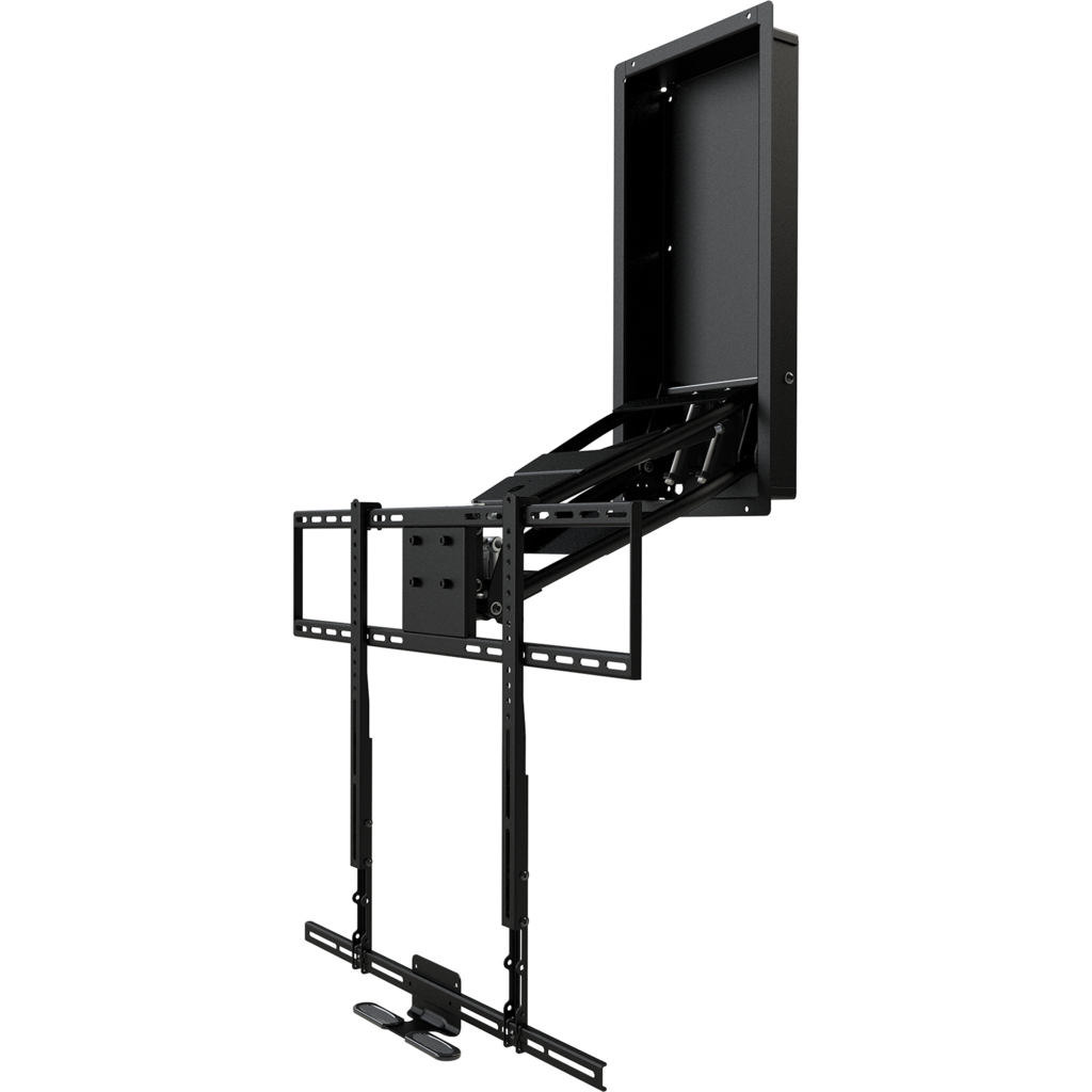 Mm340 Standard Pull Down Tv Mount Mounted Tv Wall Mounted Tv Tv Wall