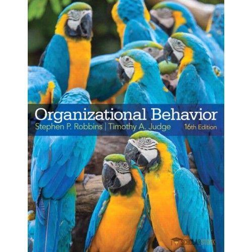Test Bank For Organizational Behavior 16 Edition By Stephen