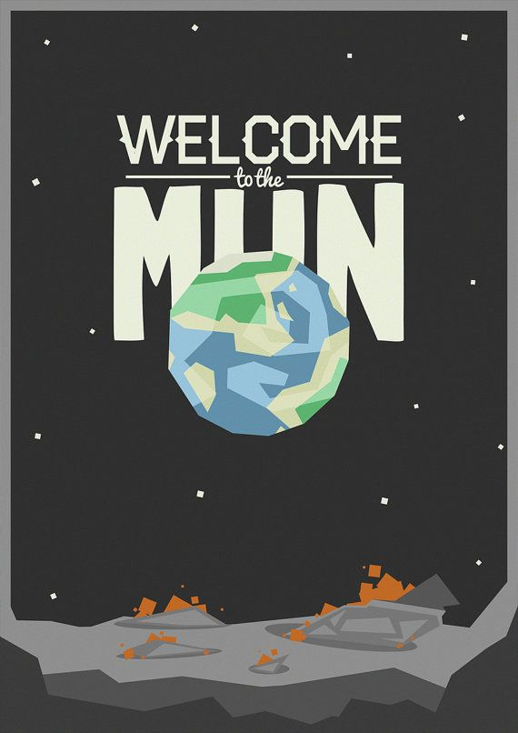 Kerbal Space Program Welcome to the Mun by shuckledesigns on