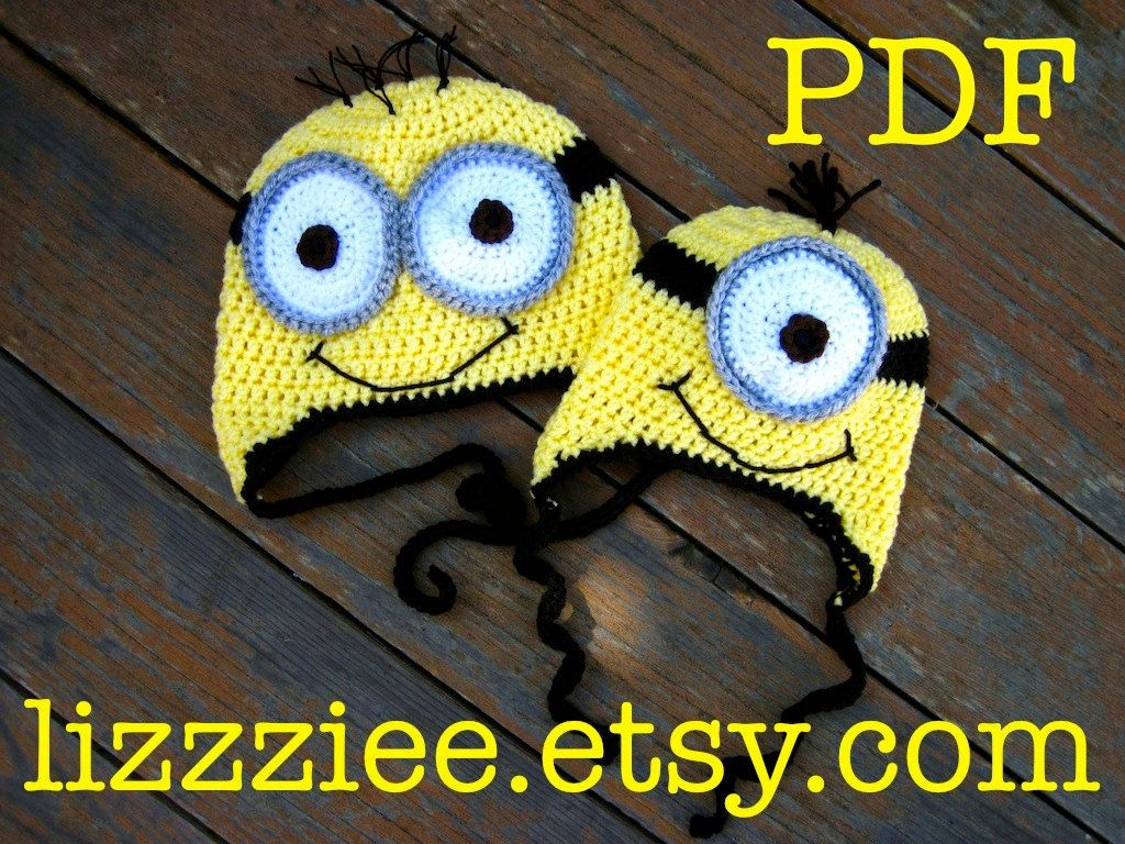 Minion hat crochet pattern despicable me easy to make minion hat crochet pattern despicable me easy to make complete instructions for beanie bankloansurffo Image collections