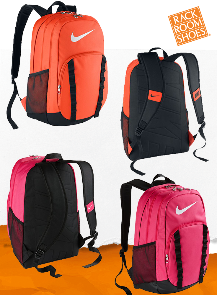 From a morning workout to a full day of classes, get where you need to go in comfort and style with the Nike Brasilia backpack. #BackToScool2015
