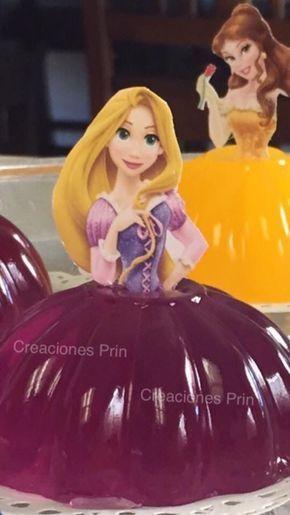Gelatinas de princesa party gelatinas infantiles - Fiestas de cumpleanos de princesas ...
