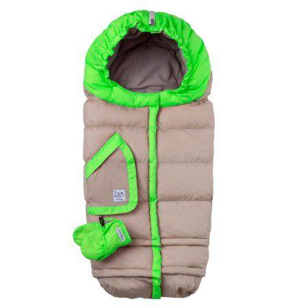 7am Enfant Blanket 212 Evolution Beige Neon Green Baby
