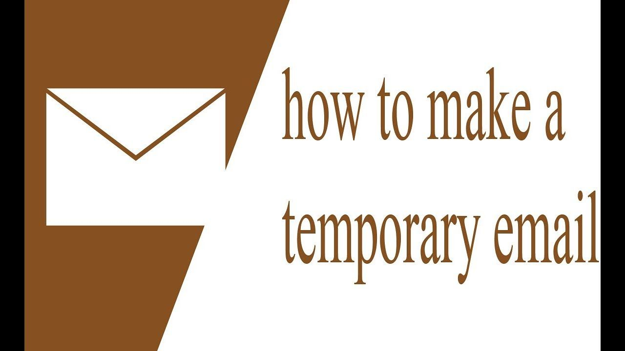 how to make a temporary email or throwaway mail … | how to make a