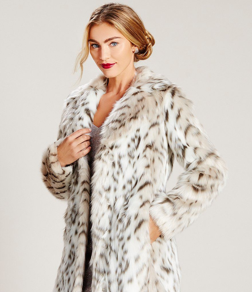 1daac9bb2134 Shop for Eliza J Faux Fur Snow Leopard Coat at Dillards.com. Visit  Dillards.com to find clothing, accessories, shoes, cosmetics & more.