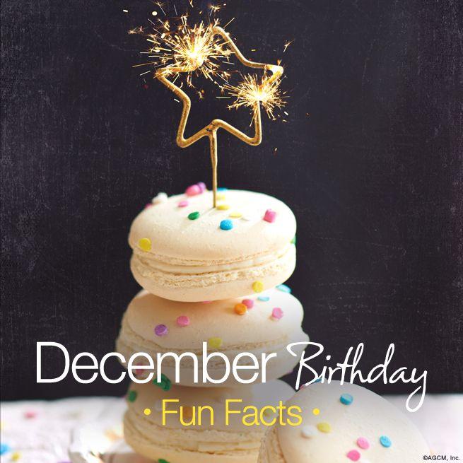 December Birthday Fun Facts | December birthday, December ...