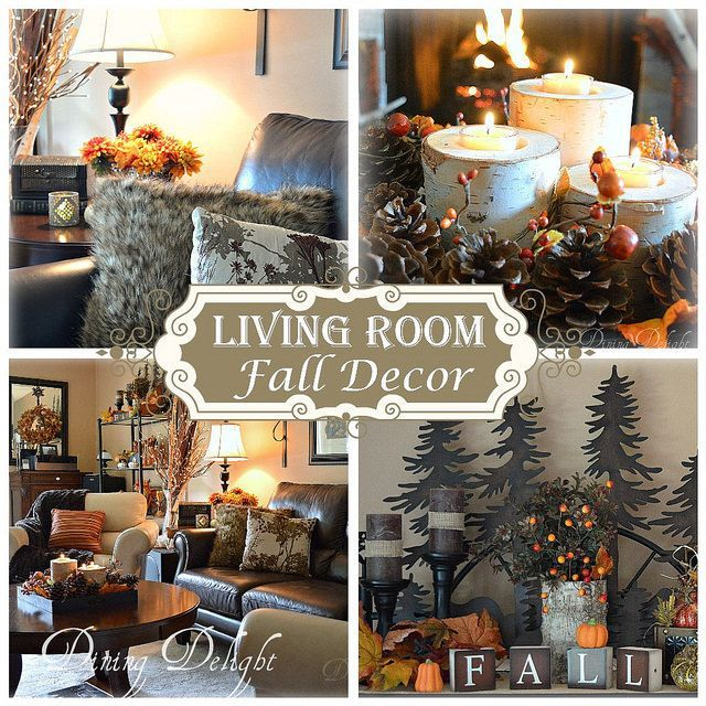 Dining Delight: Fall Decor In The Living Room 2015