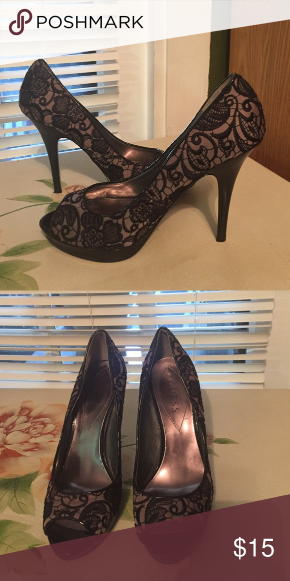 1fe75eb6c6 Gorgeous sz 8 Guess spike heels Excellent condition. Sexy! Guess Shoes Heels