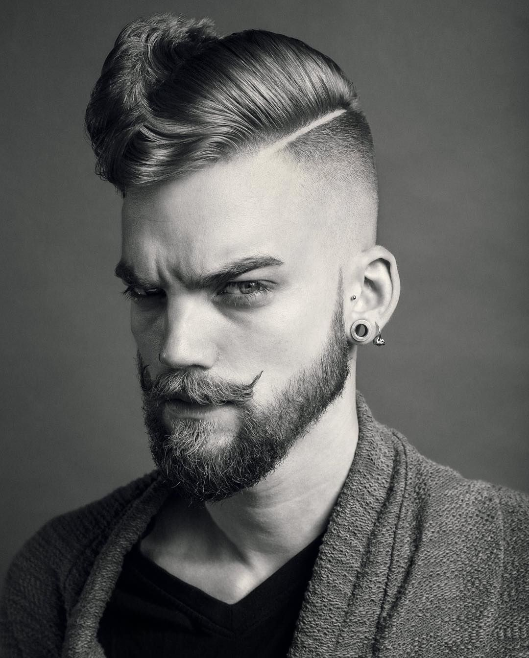 awesome 50 Exceptional Handlebar Mustache Styles - How to ...