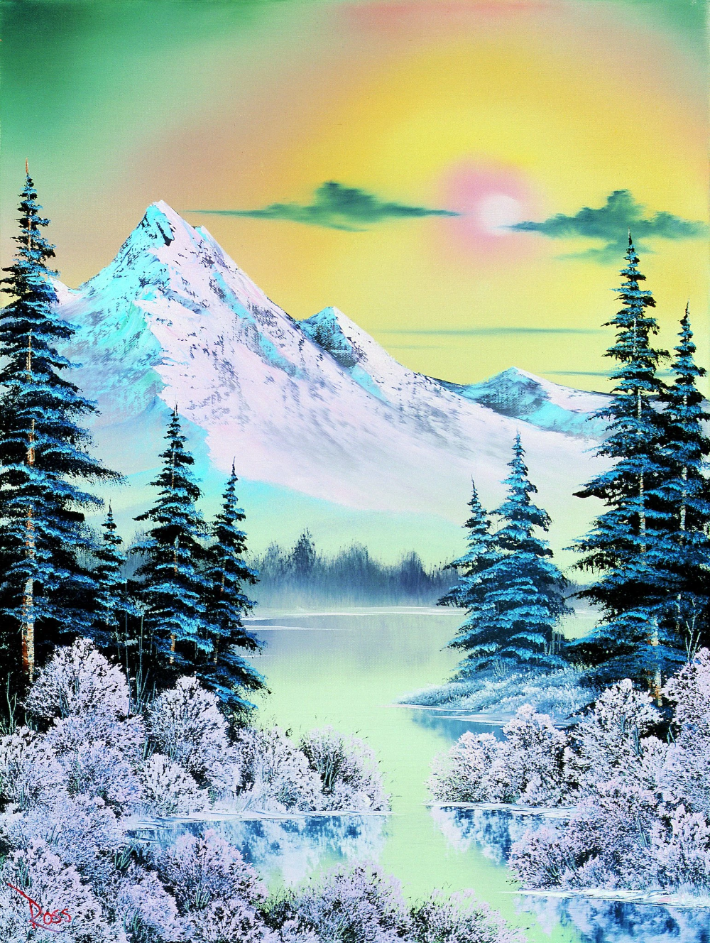 Where Are All The Bob Ross Paintings We Found Them Published 2019 Bob Ross Art Bob Ross Paintings Bob Ross