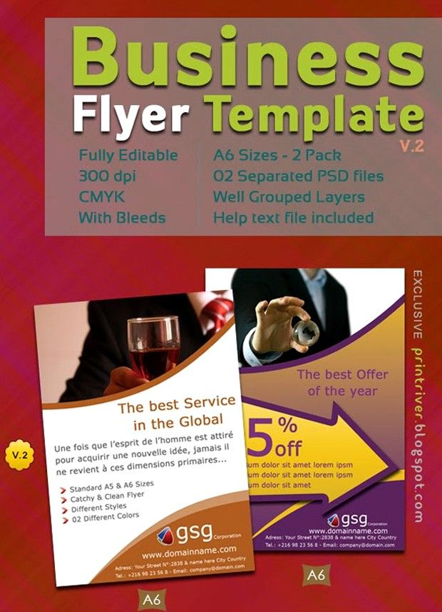 60 Free Psd Poster And Flyer Templates Business Flyers And Vector
