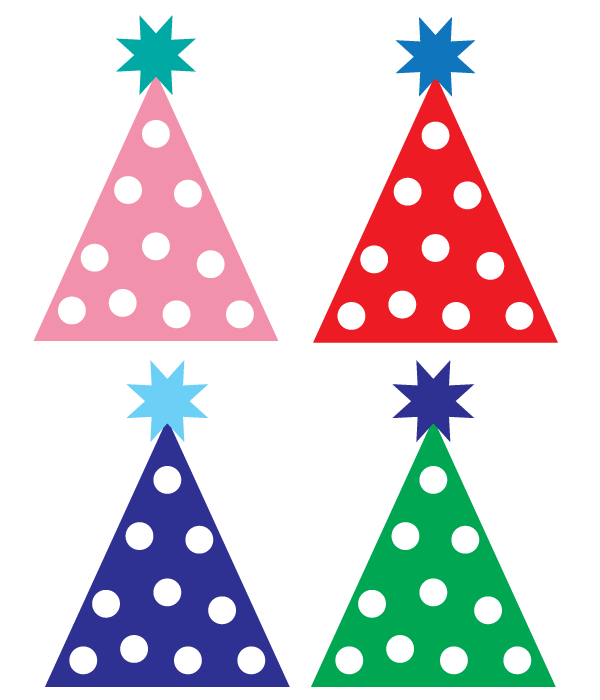 photograph relating to Birthday Clipart Free Printable titled No cost social gathering hat clipart Strategies Birthday clipart