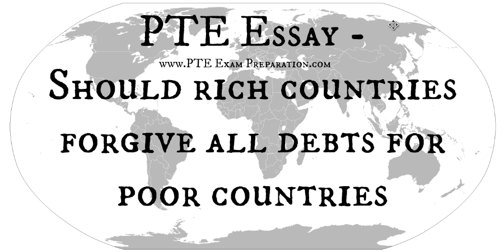 Help poor countries essay