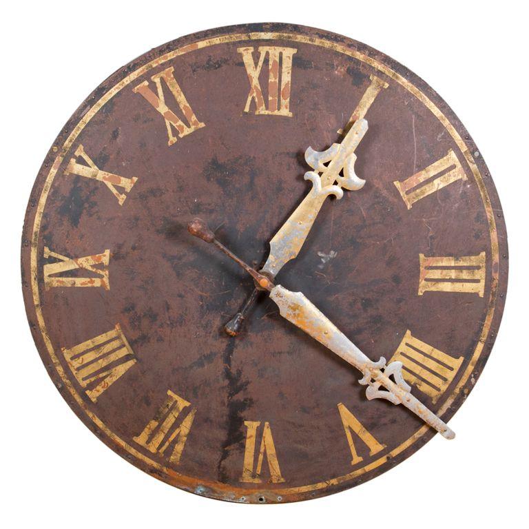 Large Decorative Clock Face