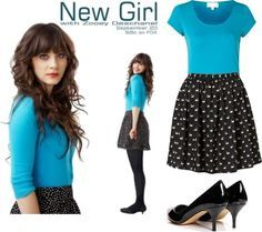 55bfae4a8daf the new girl clothes - Google Search