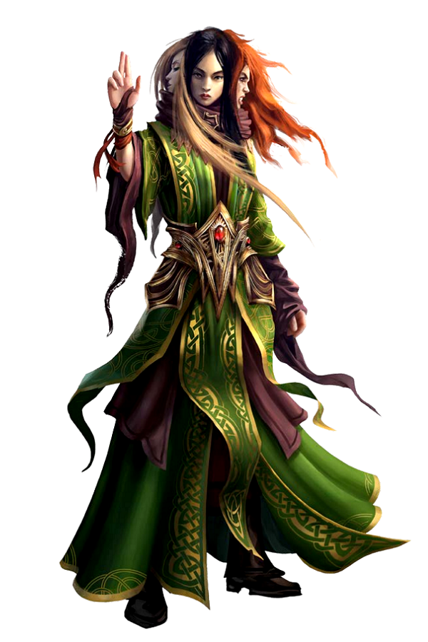 Fey Eldest - Magdh - The Three - Pathfinder PFRPG DND D&D d20 fantasy