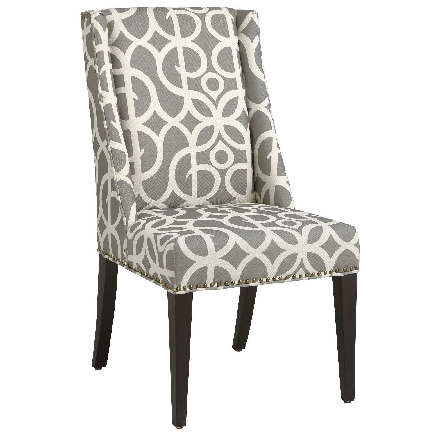 Pier 1 Accent Dining Chair Pattern: Owen Wingback Dining Chair - Metro Pewter