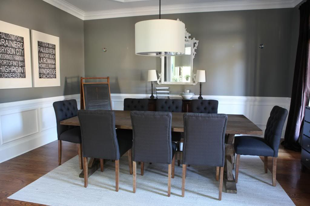 Thankful for New Chairs | Pinterest | Tufted dining chairs, Dining ...