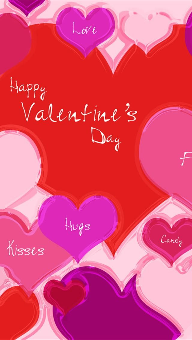 Valentine Hearts Aplenty Iphone 5 Wallpapers Valentine S Day