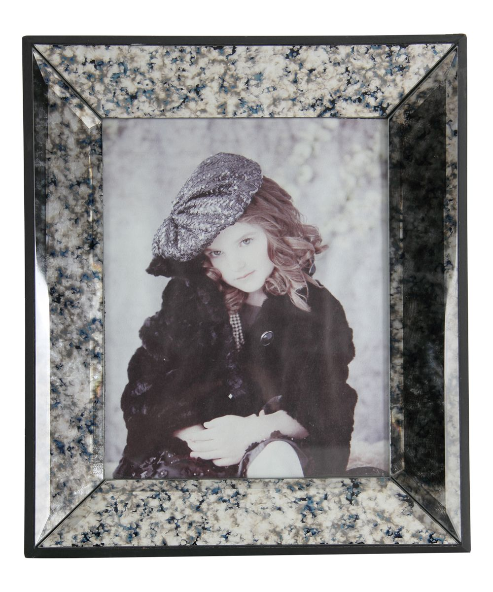 13.5'' Faux Granite Photo Frame