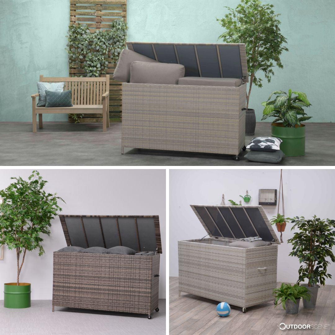 York Cushion Box is a perfect solution to keep your garden