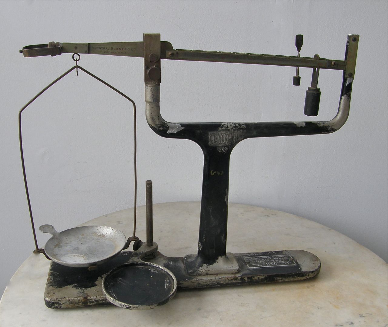 Scales Triple Beam Balance Scale Pan Amp Weights 0 100