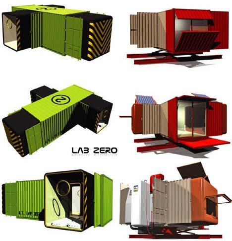 Modular Portable Homes portable prefabs: location-independent modular homes | prefab