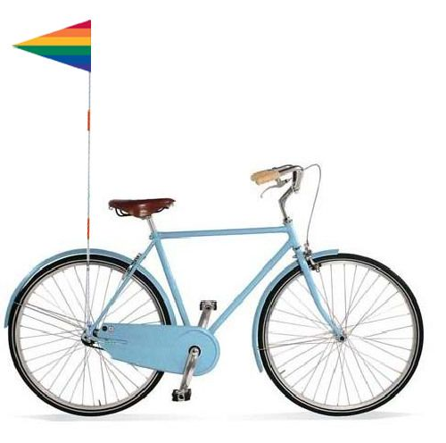 Safety Flag Rainbow I Want To Ride My Bicycle Rainbow Flag Health And Beauty
