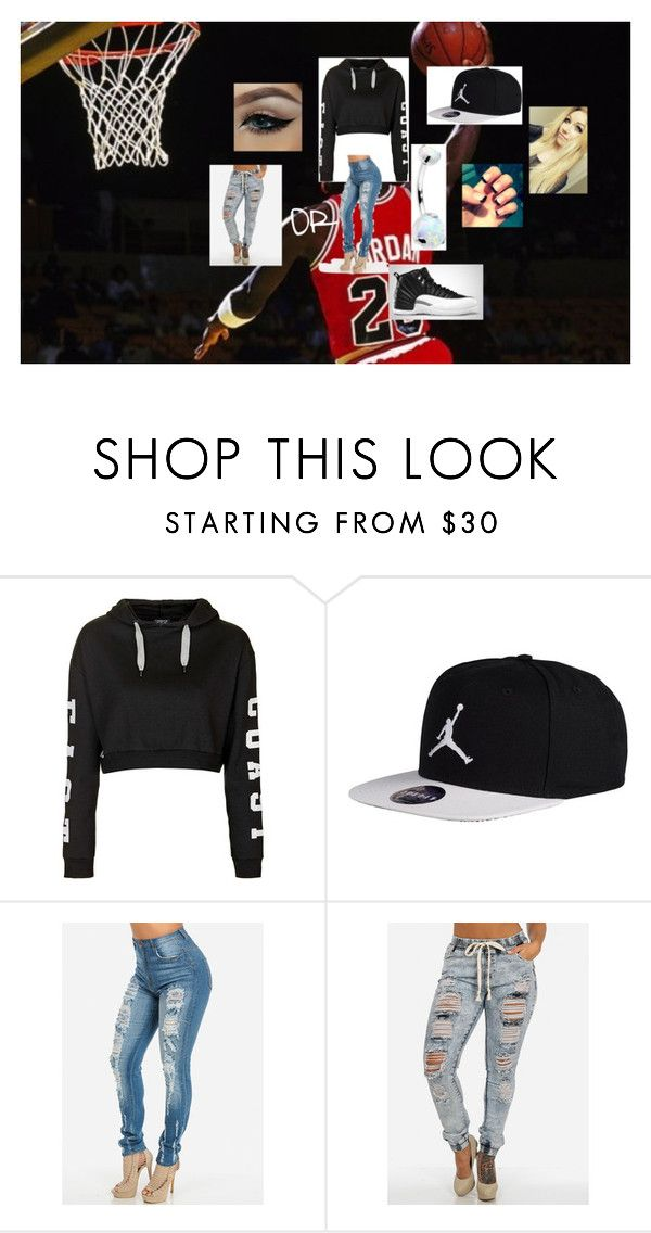"""""""Jordan Outfit <3"""" by lauraissweetandawesome on Polyvore featuring Topshop"""