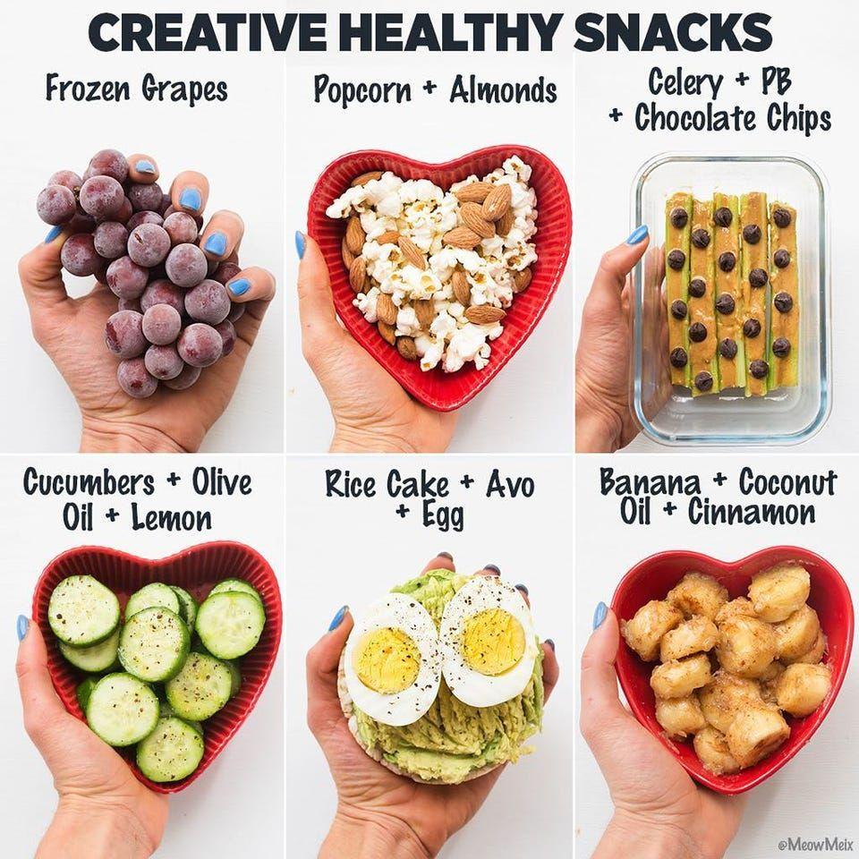 Healthy food swaps, according to nutrition blogger Amanda Meixner