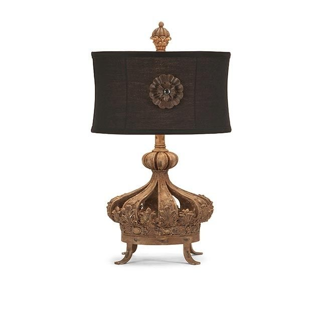 Gold Crown Table Lamp 14 X 24 H Lampentisch Lampe Lampen