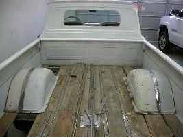 Fleetside Wheel Tubs The 1947 Present Chevrolet Gmc Truck