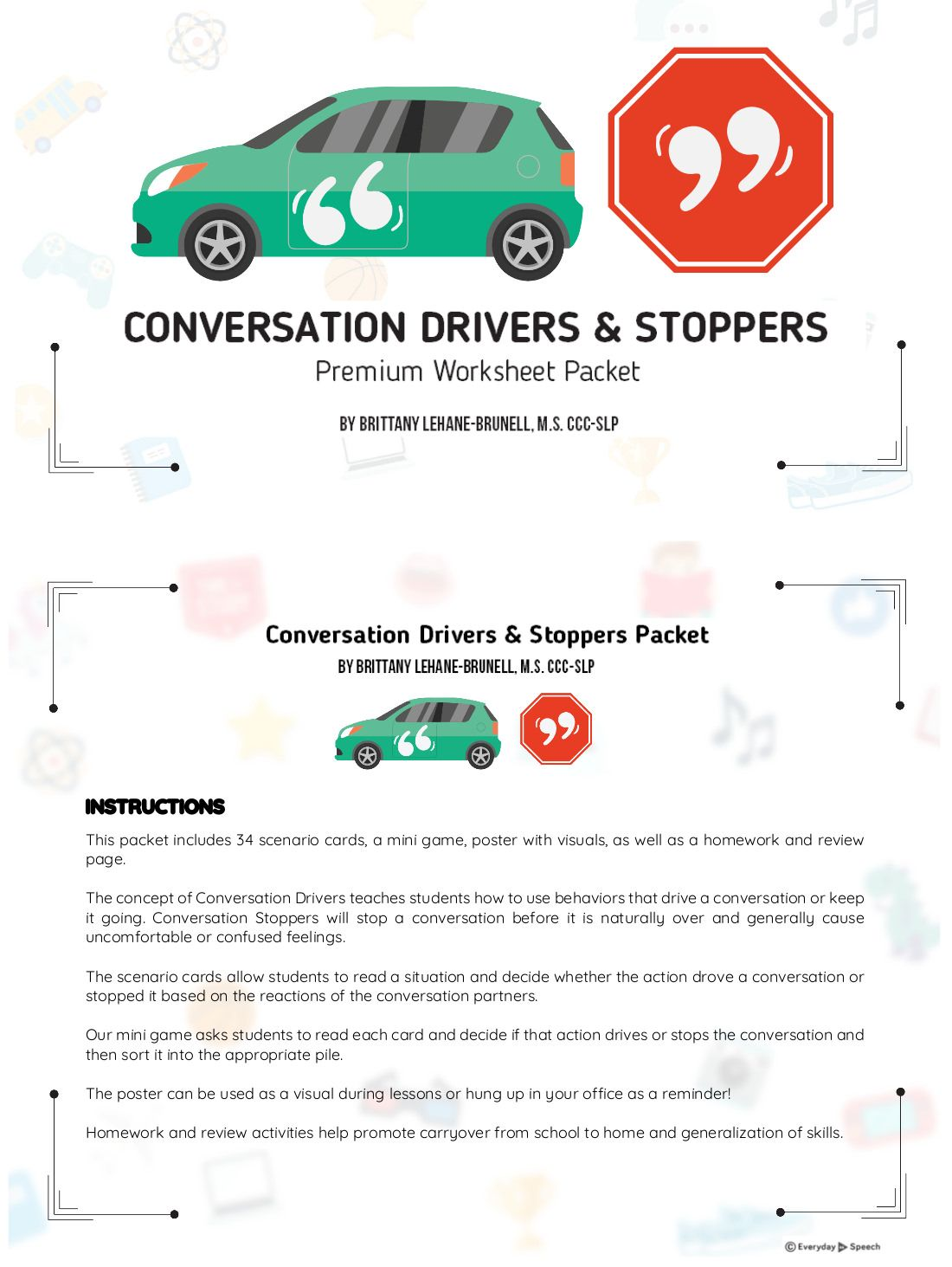 Conversation Starters And Stoppers Lesson